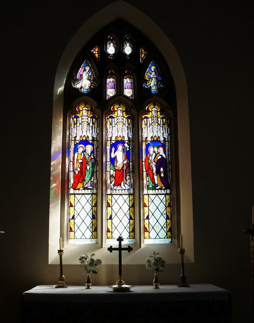 Window and Altar, St Nicholas Church, Grainsby