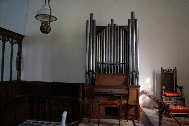 Organ at St Nicholas Church, Grainsby