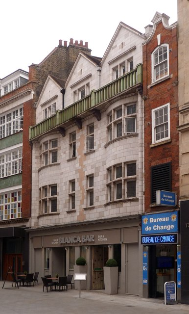 Former public house, 3-4 Sherwood Street, Piccadilly
