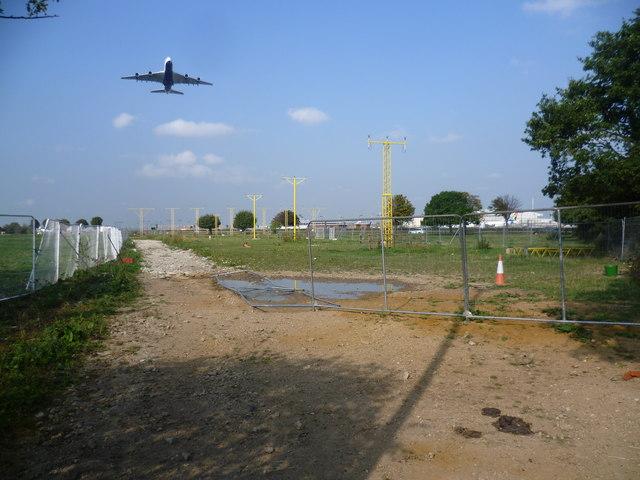 Runway approach lights for Heathrow