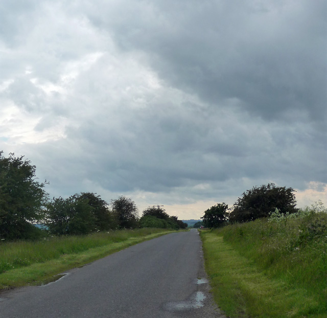 Country road near Draughton