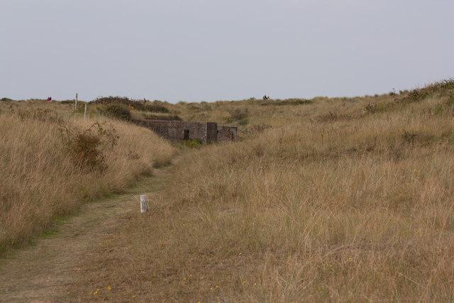 WW2 bunkers, Holme Dunes