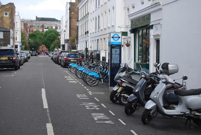 Cycle hire, Abingdon Villas
