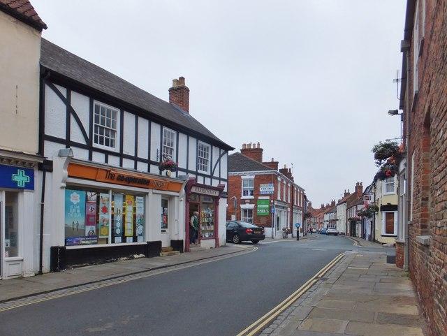 Market Place, Hedon, Yorkshire