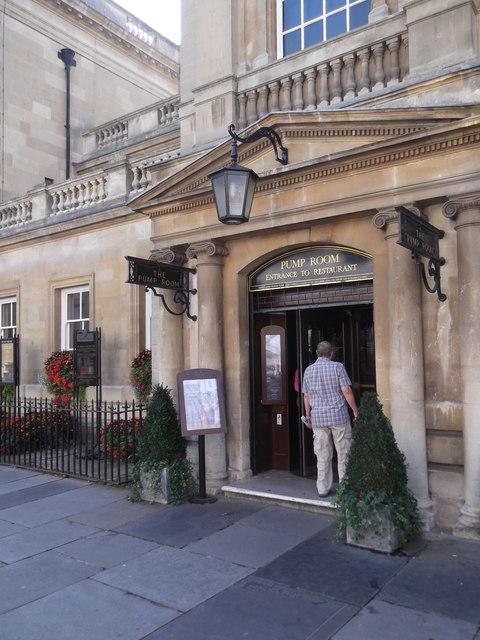Pump Room entrance, Bath