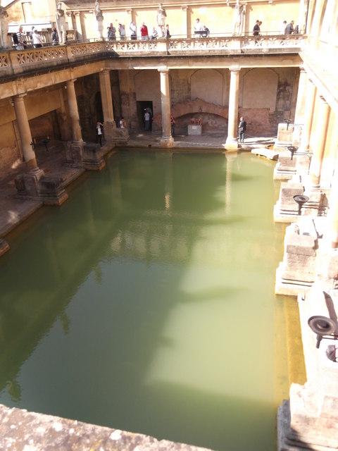 The Grand Bath, Roman Baths, Bath