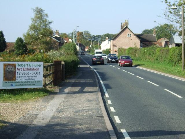 Main Street (A614), Burton Agnes