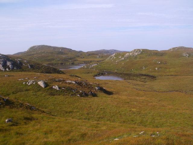 Lochan north of Buine Mhor near Lochinver