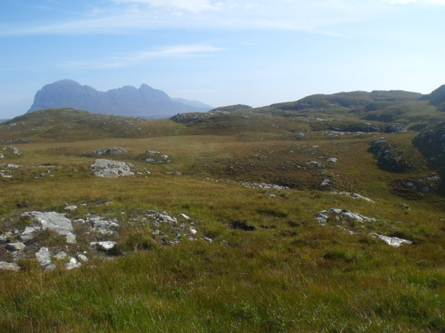 Land north of Cnoc Breac near Lochinver