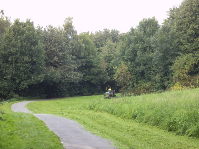 Cutting the Park Grass