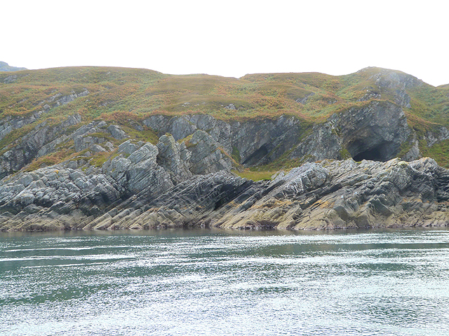 Shoreline of Bàgh Gleann na Muc