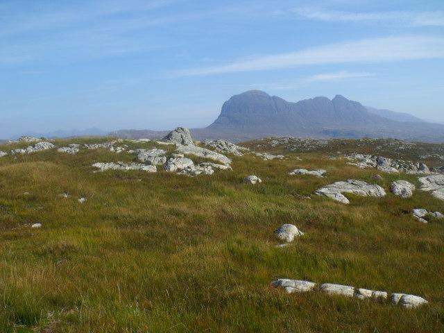 Summit of Cnoc Breac near Lochinver