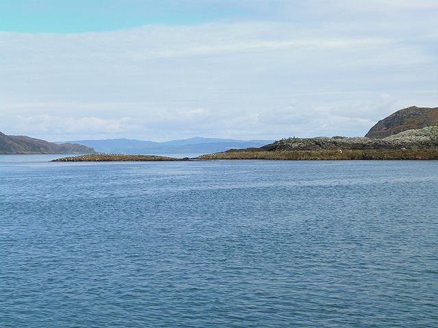 North end of Eilean Beag