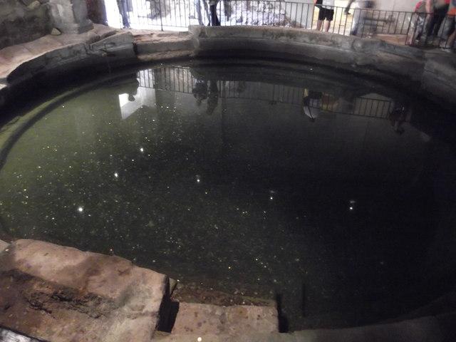 Offering coins, Roman Baths, Bath