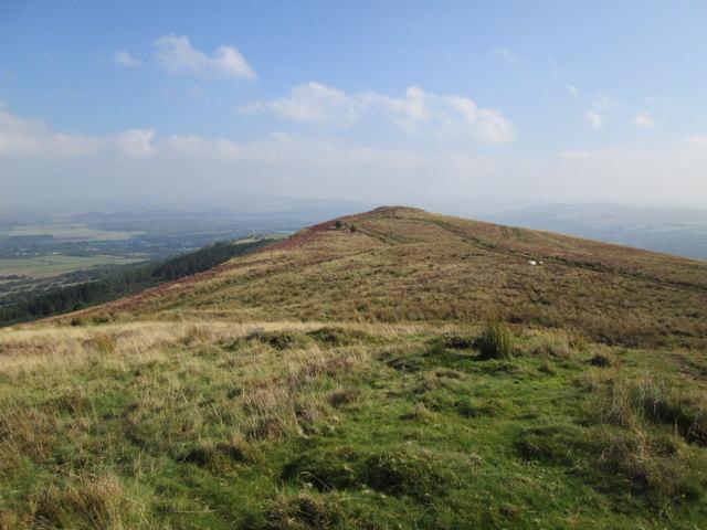 Mynydd Allt-y-grug, North Top