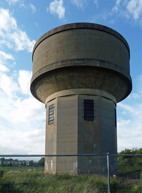 Water tower near Roade