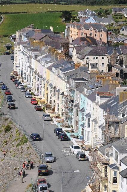 Houses on Marine Terrace
