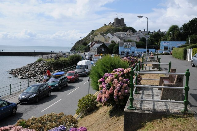 Seafront at Criccieth