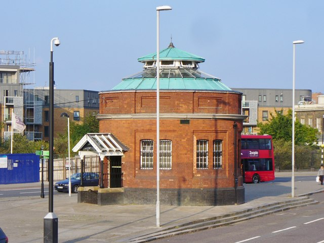 North Woolwich - Foot Tunnel Entrance