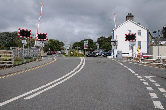 Level crossing, Criccieth