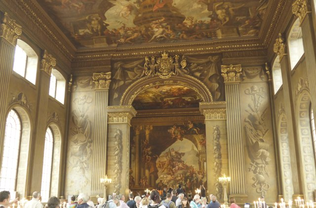 Inside The Painted Hall, Greenwich (ii)