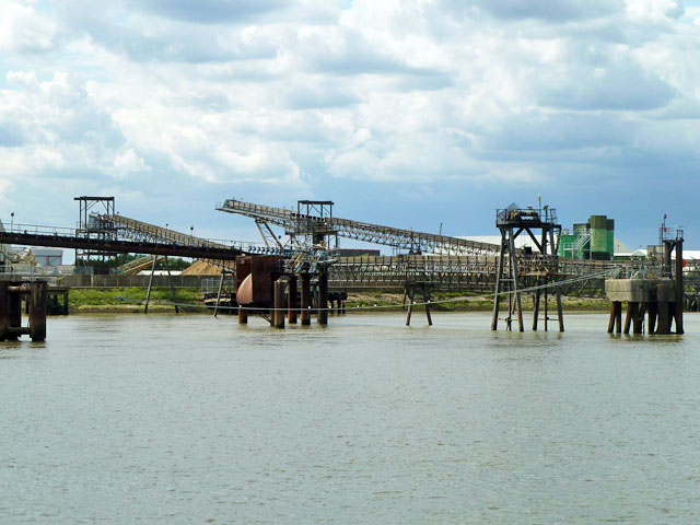 Jetty and conveyors, Erith