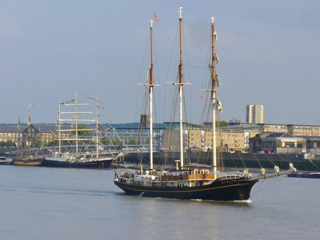 Woolwich - Tall Ships Race 2014