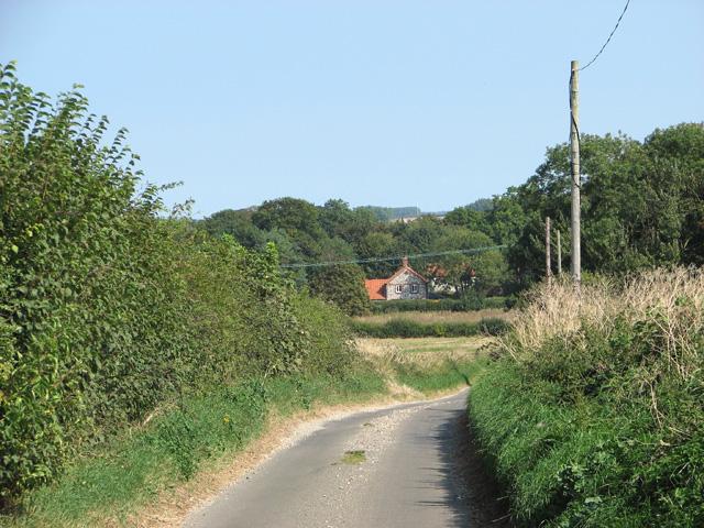 View towards Burnham Westgate from Chalk Hill
