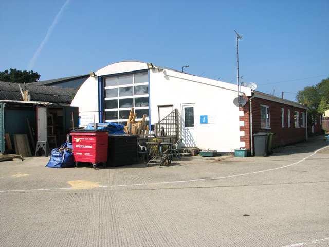The Motor transport shed