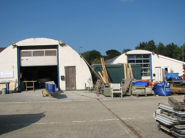 Motor transport sheds