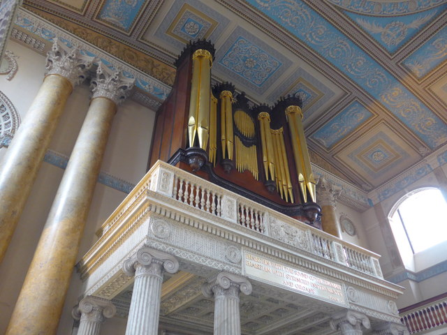 Inside the Chapel of SS Peter & Paul, Old Royal Naval College, Greenwich (o)