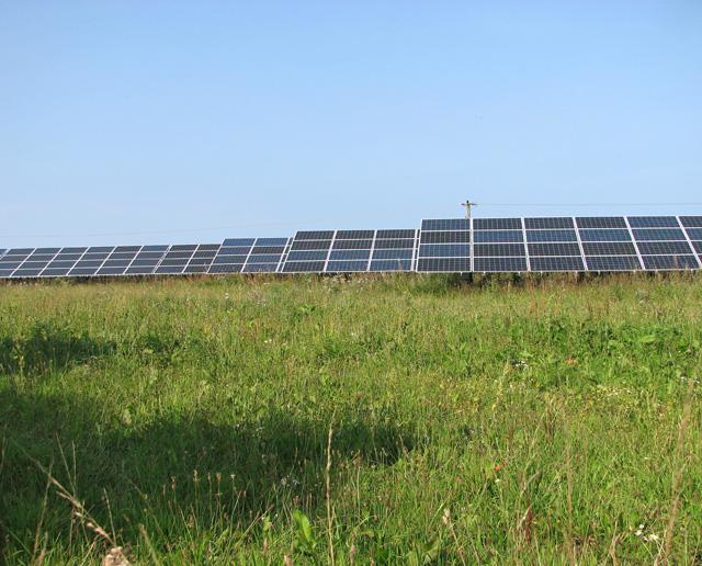 New solar farm at Egmere