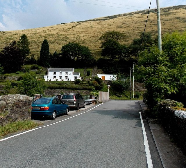West Rhondda Road towards the A4064, Tylagwyn