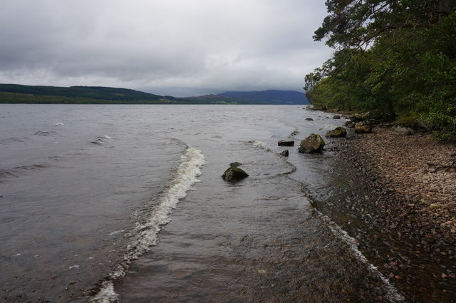 View from the Southside of Loch Rannoch