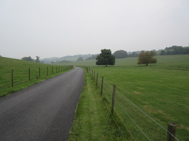 Access road from Woldingham School