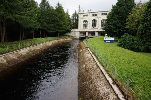 Loch Rannoch Hydro Electric Power Station