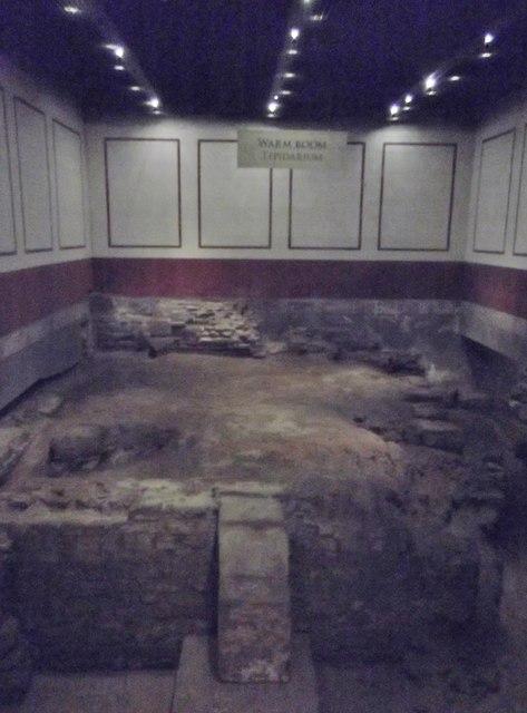 Tepidarium, Roman Baths, Bath