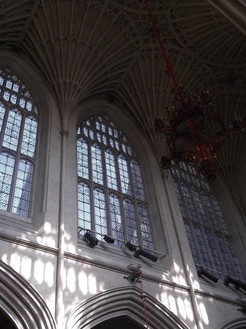 Windows, Bath Abbey