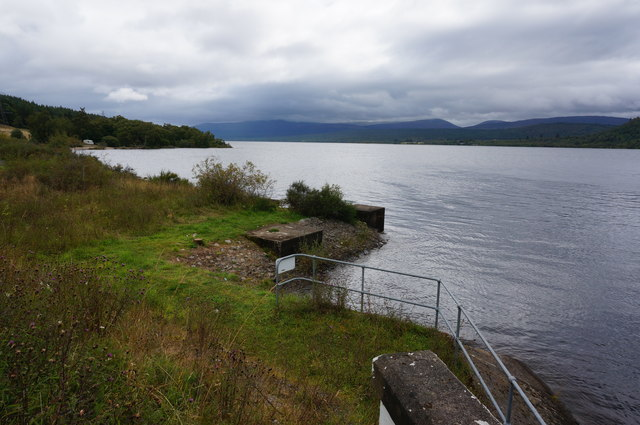 View East along the shore of Loch Rannoch