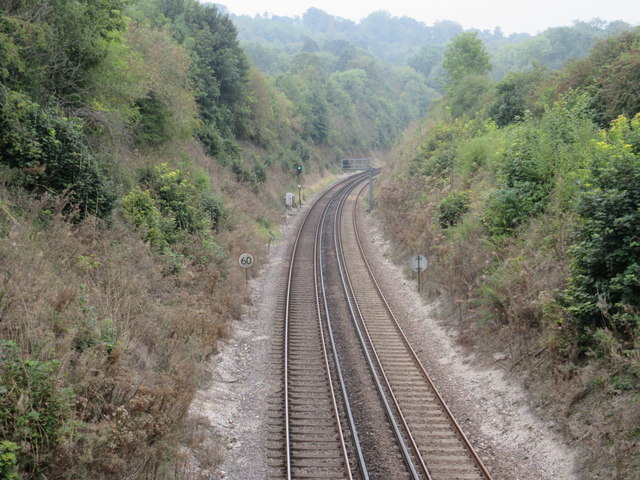 Railway to Oxted