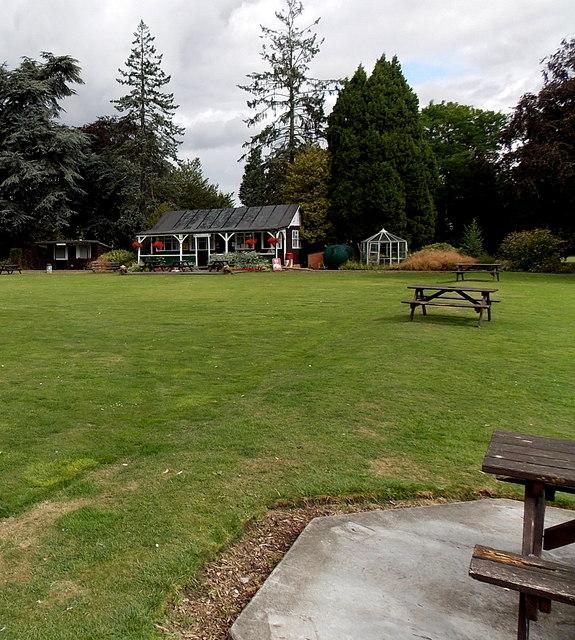 Pavilion Cafe in Wilton Park, Melton Mowbray