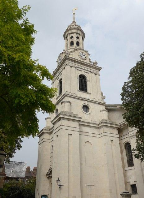 St Alfege, Greenwich: tower