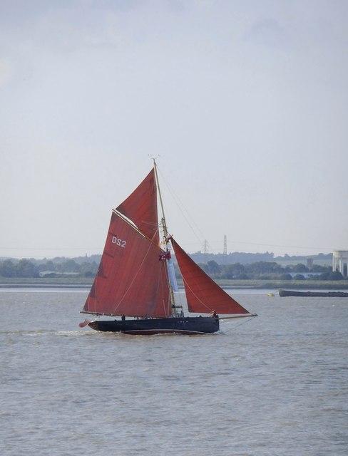 'Jolie Brise' off Lower Hope Point