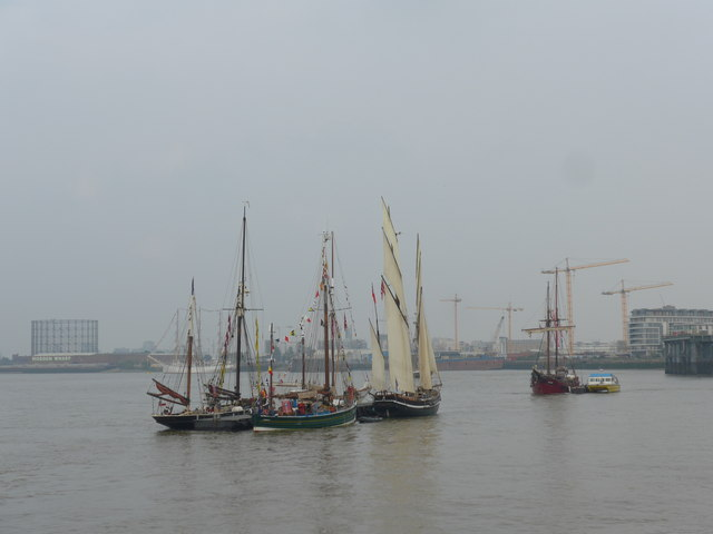 The Thames on Tall Ships Saturday (A)