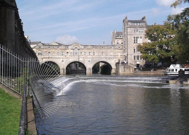 Pulteney Bridge from Parade Gardens, Bath