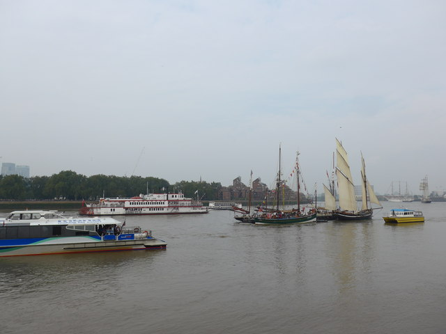The Thames on Tall Ships Saturday (E)