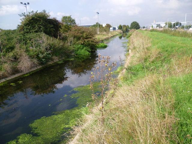 The Longford River near Heathrow