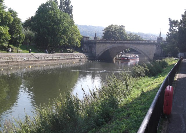 River Avon and North Parade Bridge, Bath