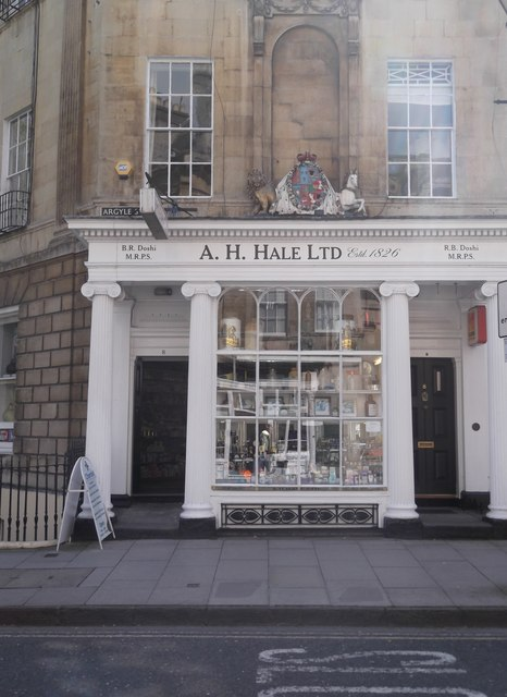A.H. Hale Ltd, Argyle Street, Bath