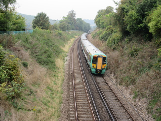 Train to Oxted